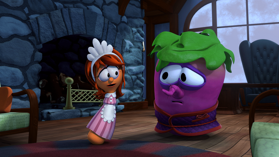VeggieTales Beauty and the Beet Mirabelle and Beet