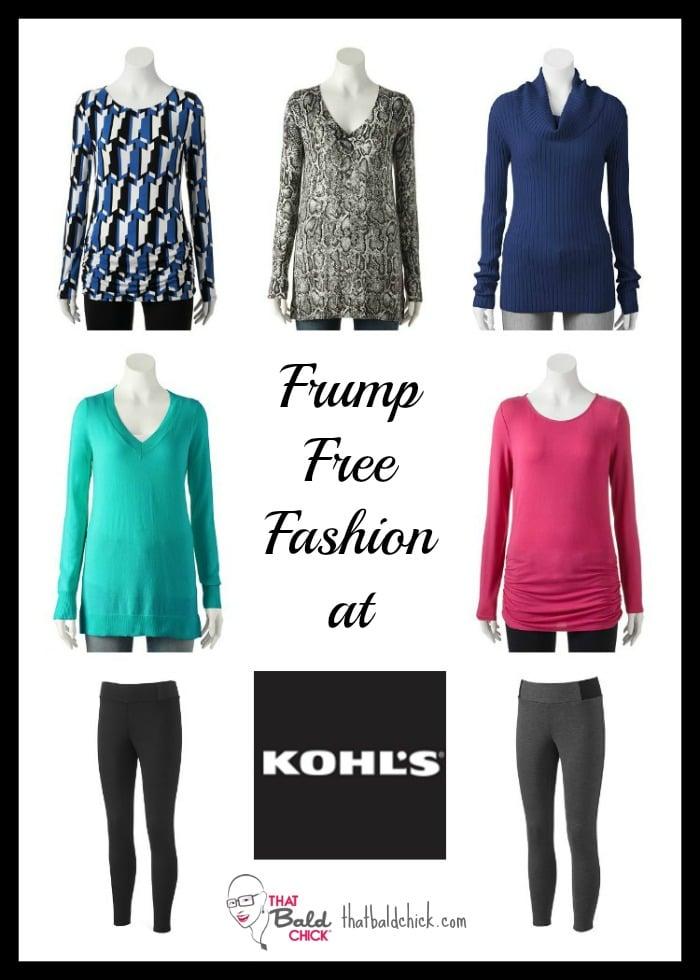 Frump Free Fashion at Kohl's