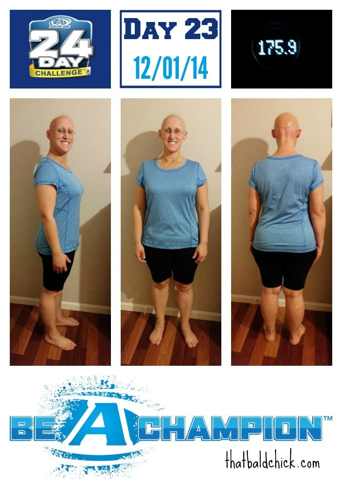 Advocare 24 Day Challenge Day 23