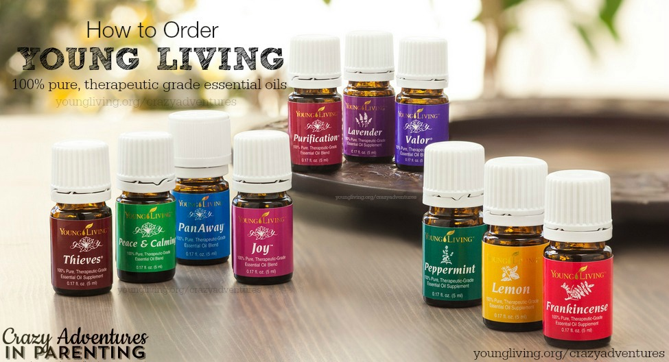 How to Order Young Living Oils