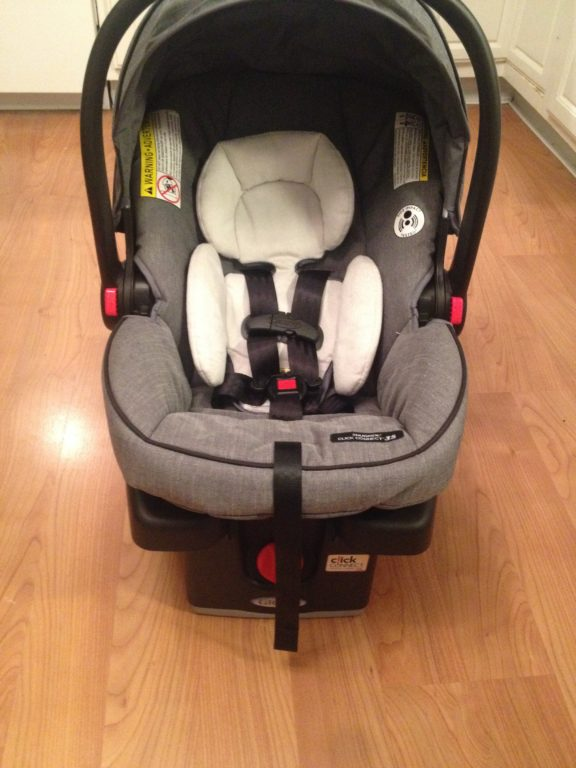 Graco Modes Click Connect Travel System Infant Carseat