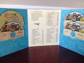 Contents of the Jesus Storybook Bible Curriculum