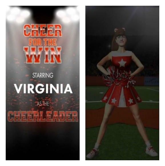 AvaStar Cheerleader