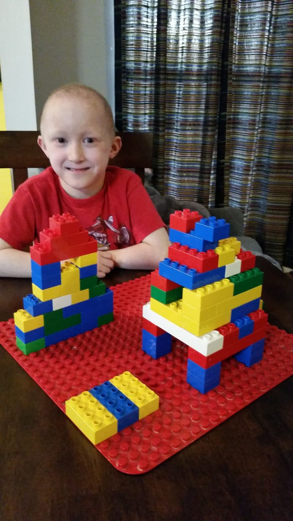 Rocket Ship and Space Station with LEGO® DUPLO® BRICKS