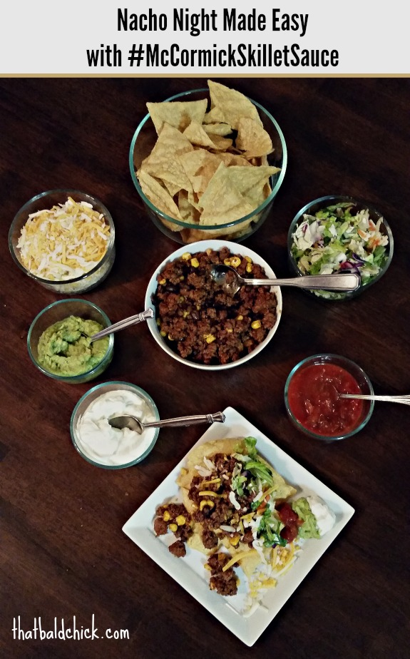 Nacho Night Made Easy with #McCormickSkilletSauce