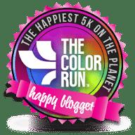 The Color Run Happy Blogger