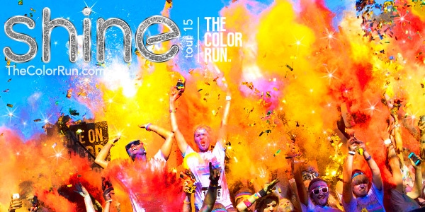 The Color Run Shine Tour 2015