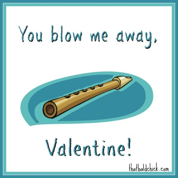 You blow me away Valentine printable tag @thatbaldchick