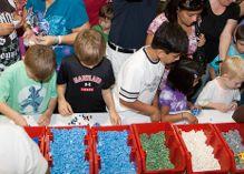LEGO bricks at LEGO KidFest