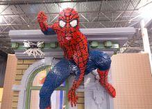 SpiderMan of Lego bricks