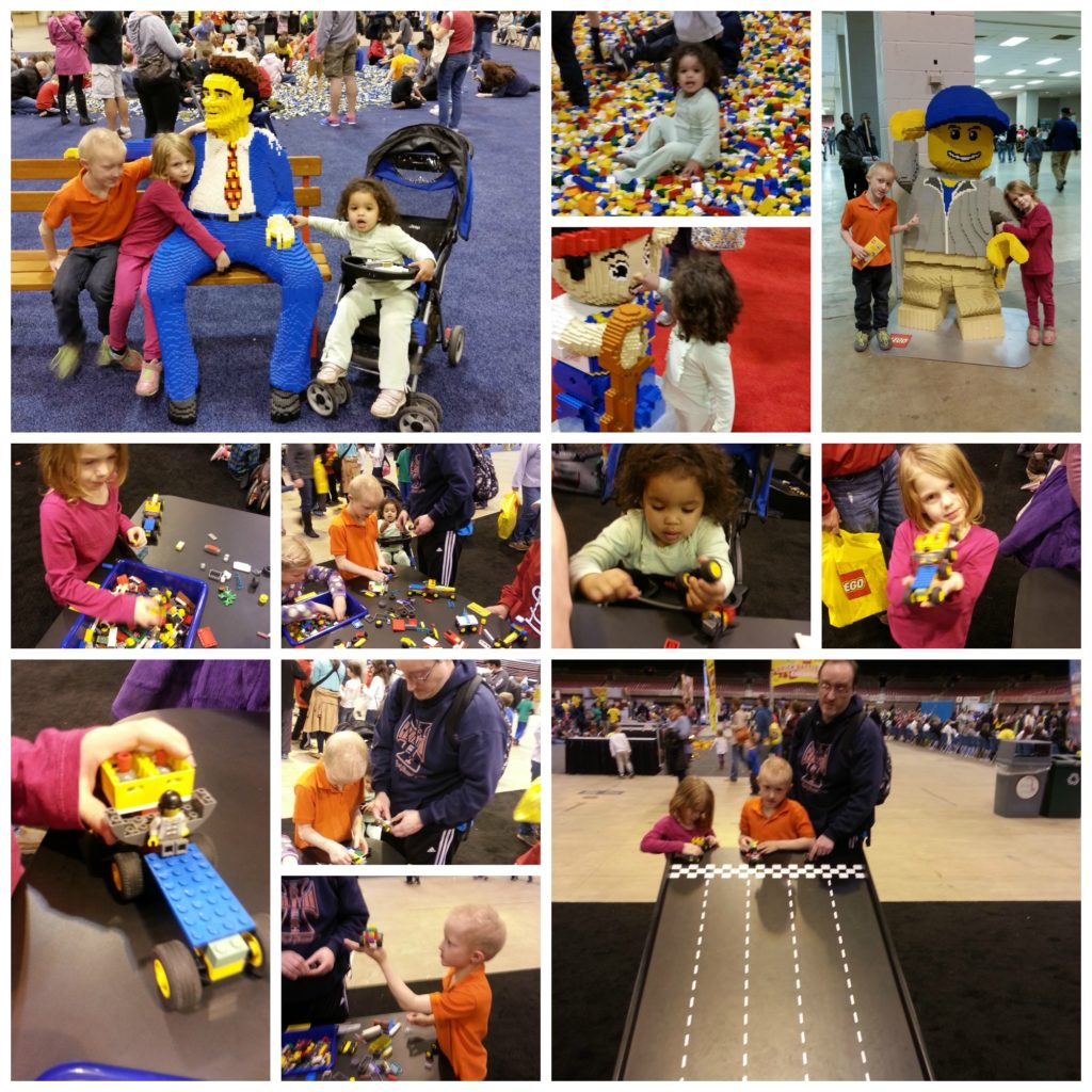 Activities at Lego KidsFest St Louis 2015