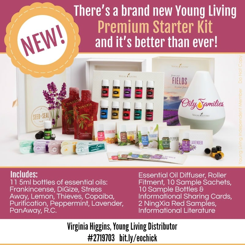 Young Living Updated Premium Starter Kit