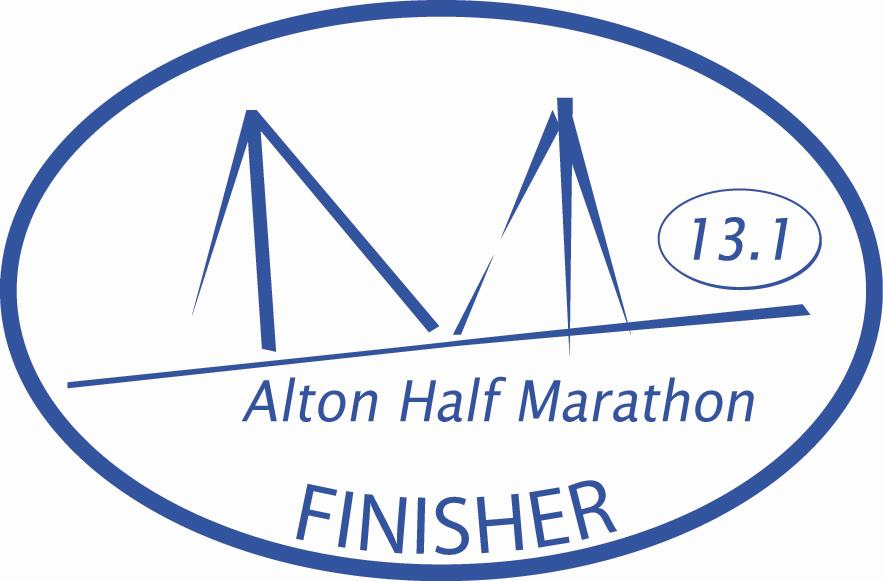 alton half marathon finisher