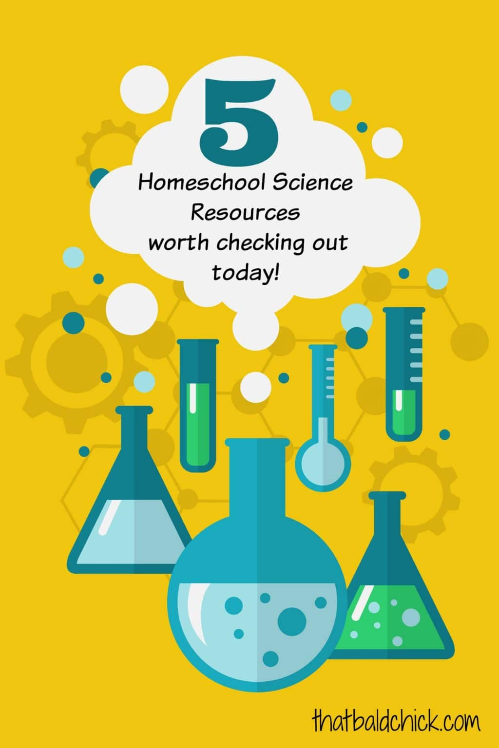 5 homeschool science resources worth checking out today @thatbaldchick