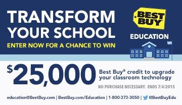Best Buy Education Sweepstakes