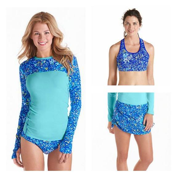 Sun Protective Swimwear from Coolibar #WhyILoveCoolibar