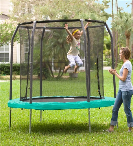 Jump Pod Trampoline and Enclosure from Hearthsong