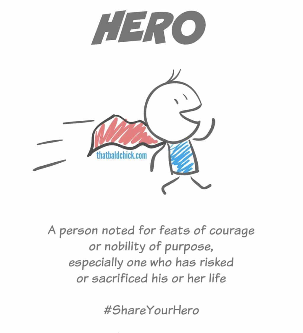 Share your hero @thatbaldchick