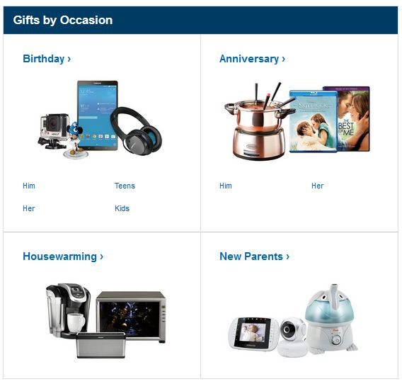 Shop @BestBuy #GiftIdeas by Occasion