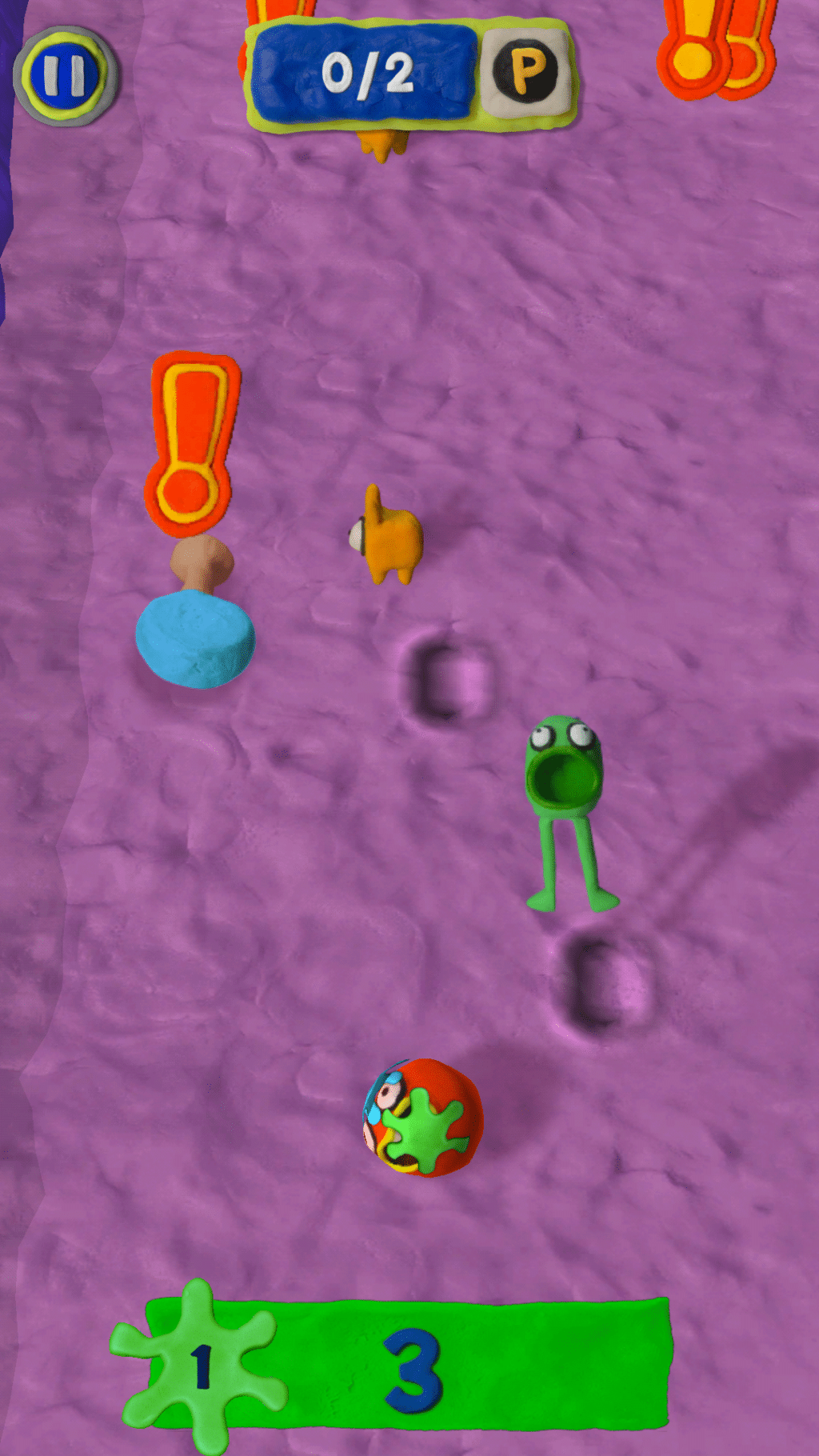 Play Doh Jam Obstacles