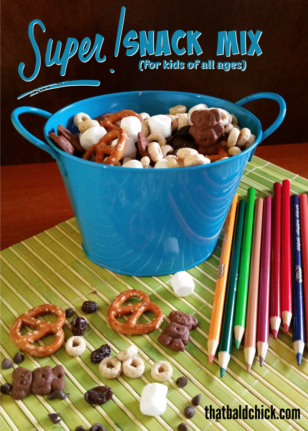 Super Snack Mix for Kids of All Ages @thatbaldchick