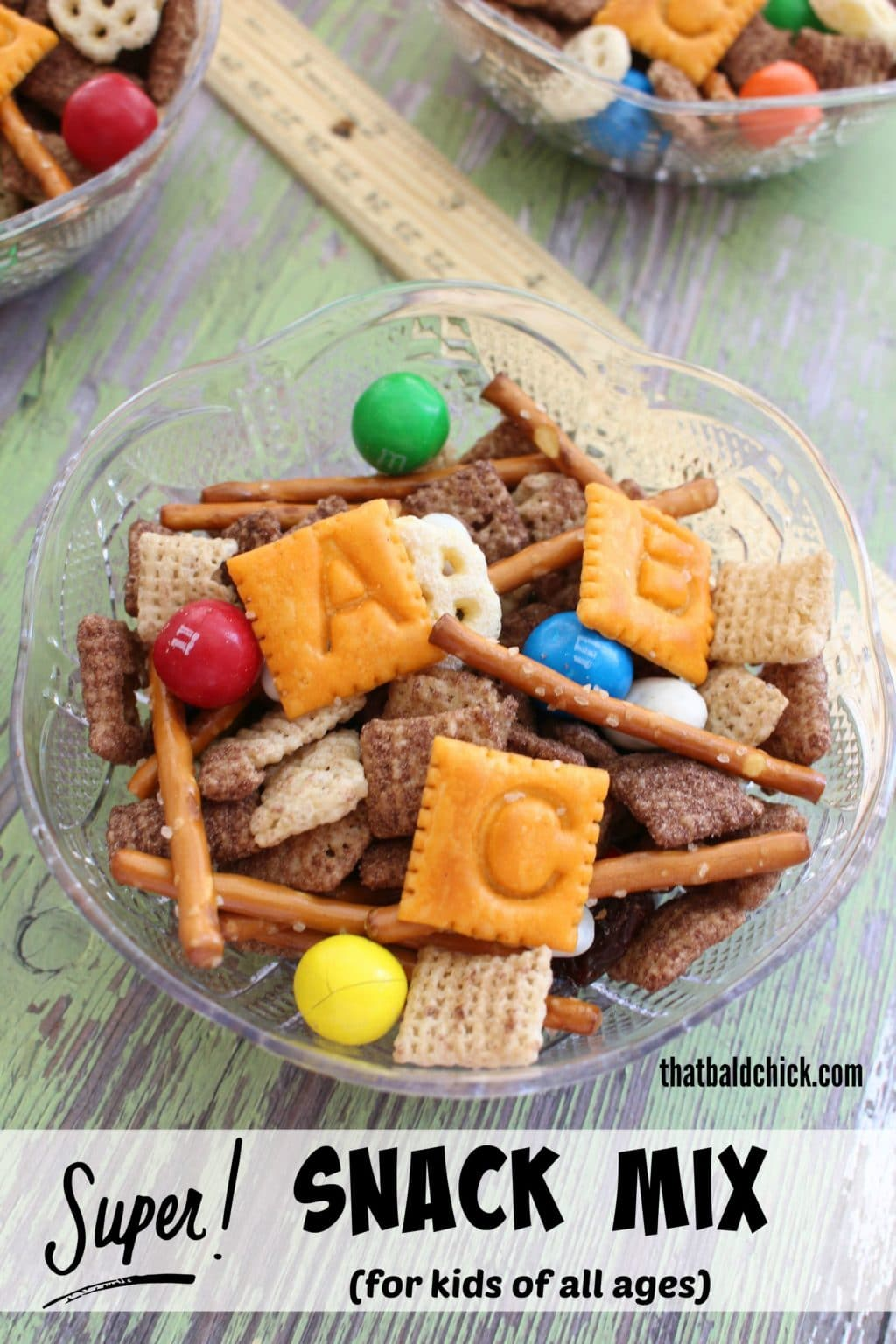 Super Snack Mix Recipes @thatbaldchick