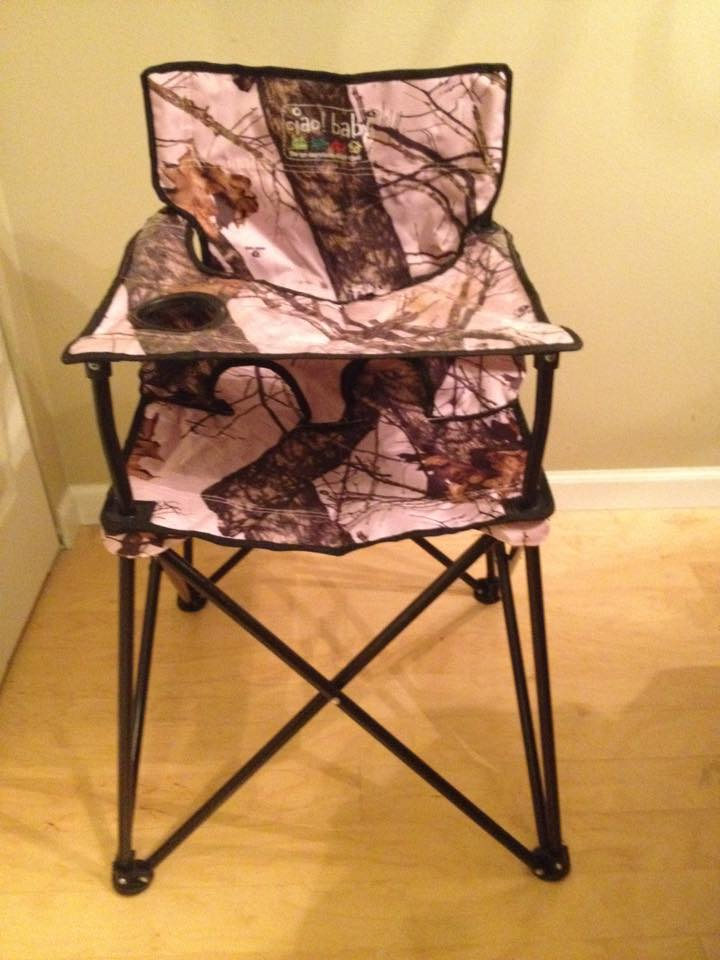 leg holes in the ciao! baby Portable High Chair