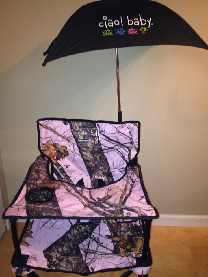 ciao! baby – The Portable High Chair with umbrella