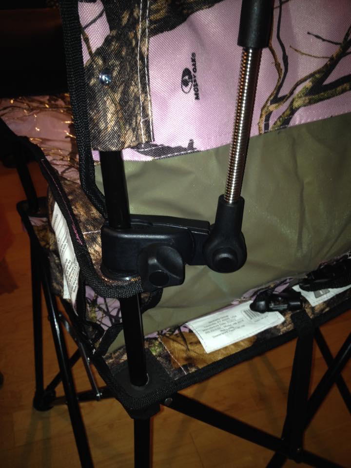 umbrella clip on the ciao! baby Portable High Chair
