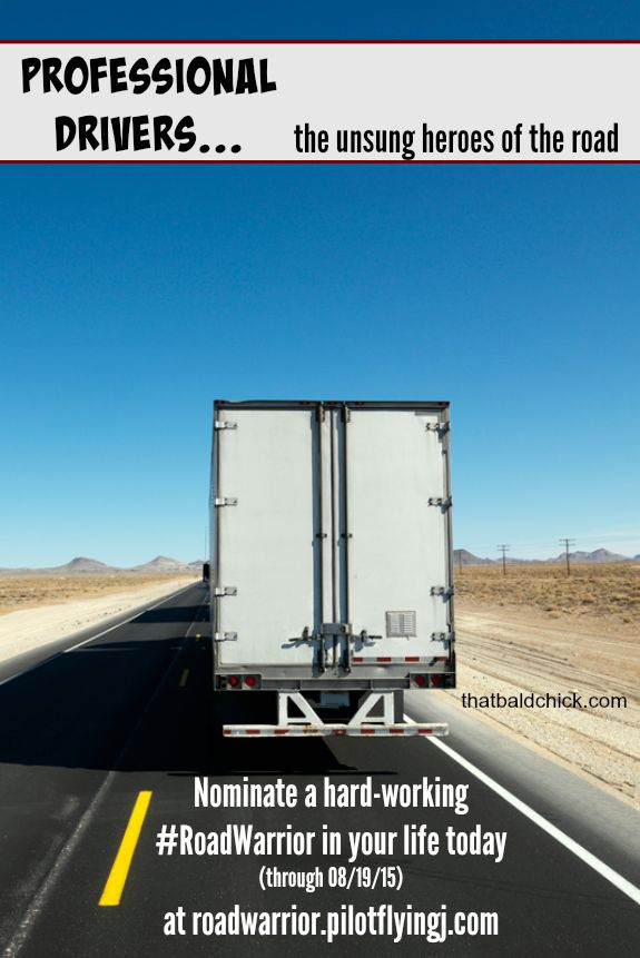 professional drivers are the unsung heroes of the road #roadwarrior #ad @thatbaldchick