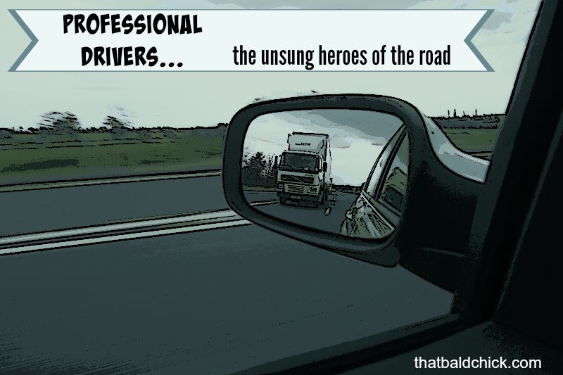 professional drivers are the unsung heroes of the road #RoadWarrior @pilottravel #ad @thatbaldchick