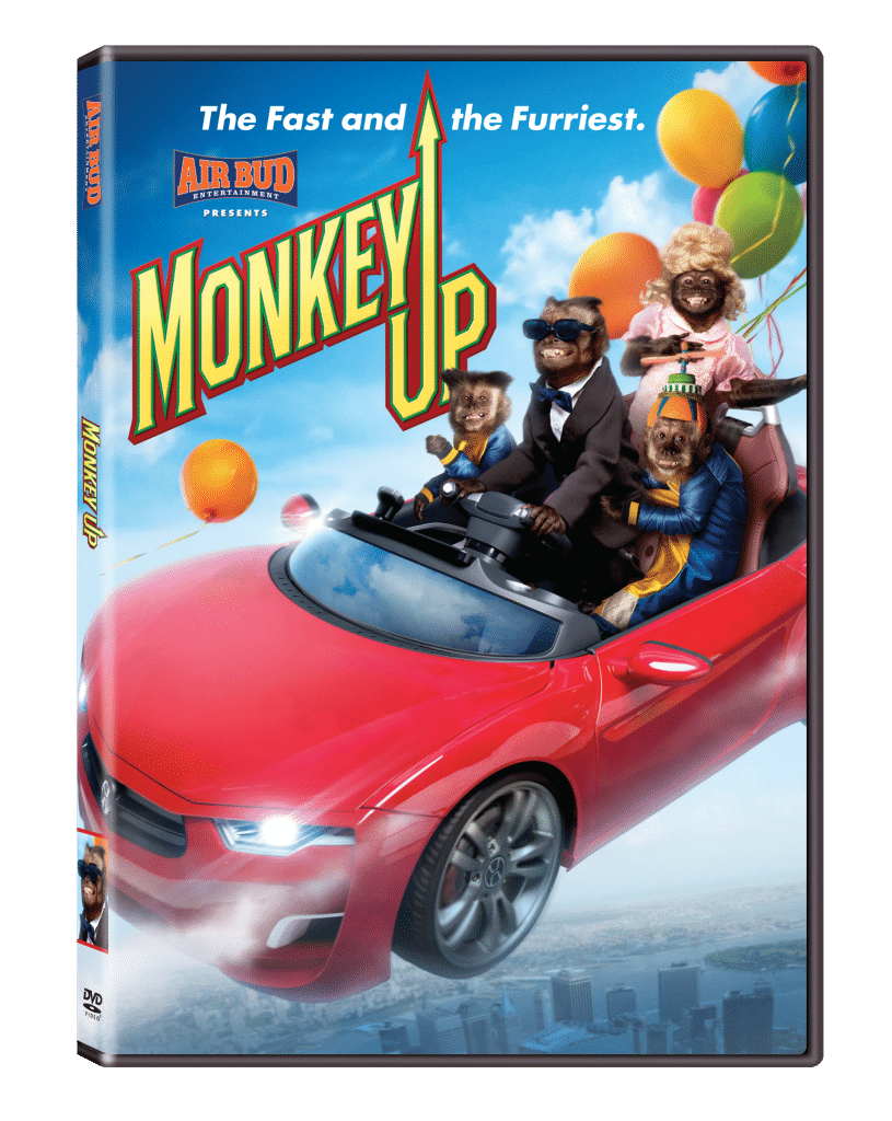 Monkey Up, from Air Bud Entertainment, out on DVD 2/2/16! #ad See details and trailer @thatbaldchick