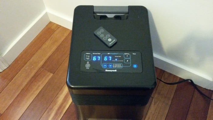 Honeywell Infrared Heater Display