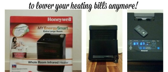 You don't have to be cold to lower your heating bills anymore! Get a Honeywell MyEnergySmart® Infrared Heater