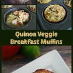 Quinoa Veggie Breakfast Muffins