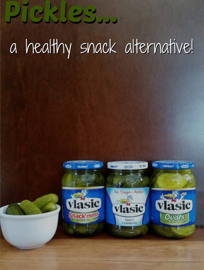 Ways to use Pickles as a healthy snack alternative @thatbaldchick