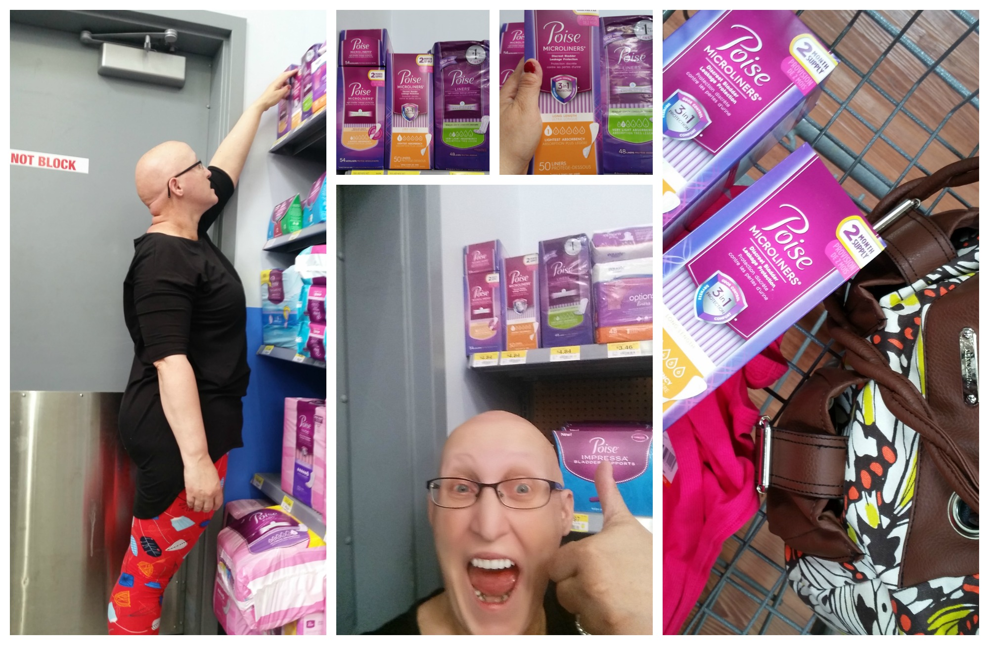 Poise Microliners at Walmart
