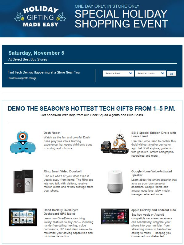Best Buy Holiday Shopping Event #ad http://bby.me/dg9w #GiftingMadeEasy @BestBuy