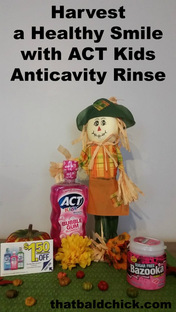 Harvest a Healthy Smile with ACT Kids Anticavity Rinse