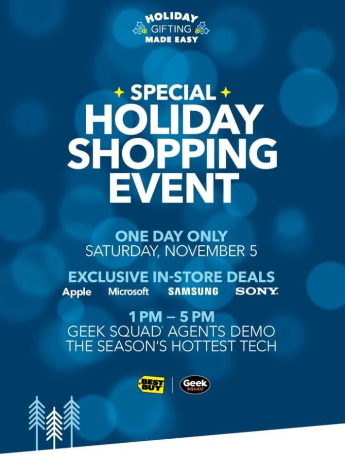 Holiday Shopping Event on Saturday 11/5 @BestBuy #GiftingMadeEasy #ad http://bby.me/dg9w