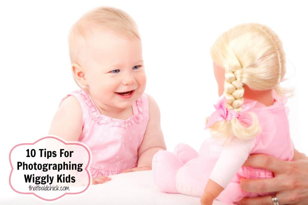 10 Tips For Photographing Wiggly Kids at thatbaldchick.com
