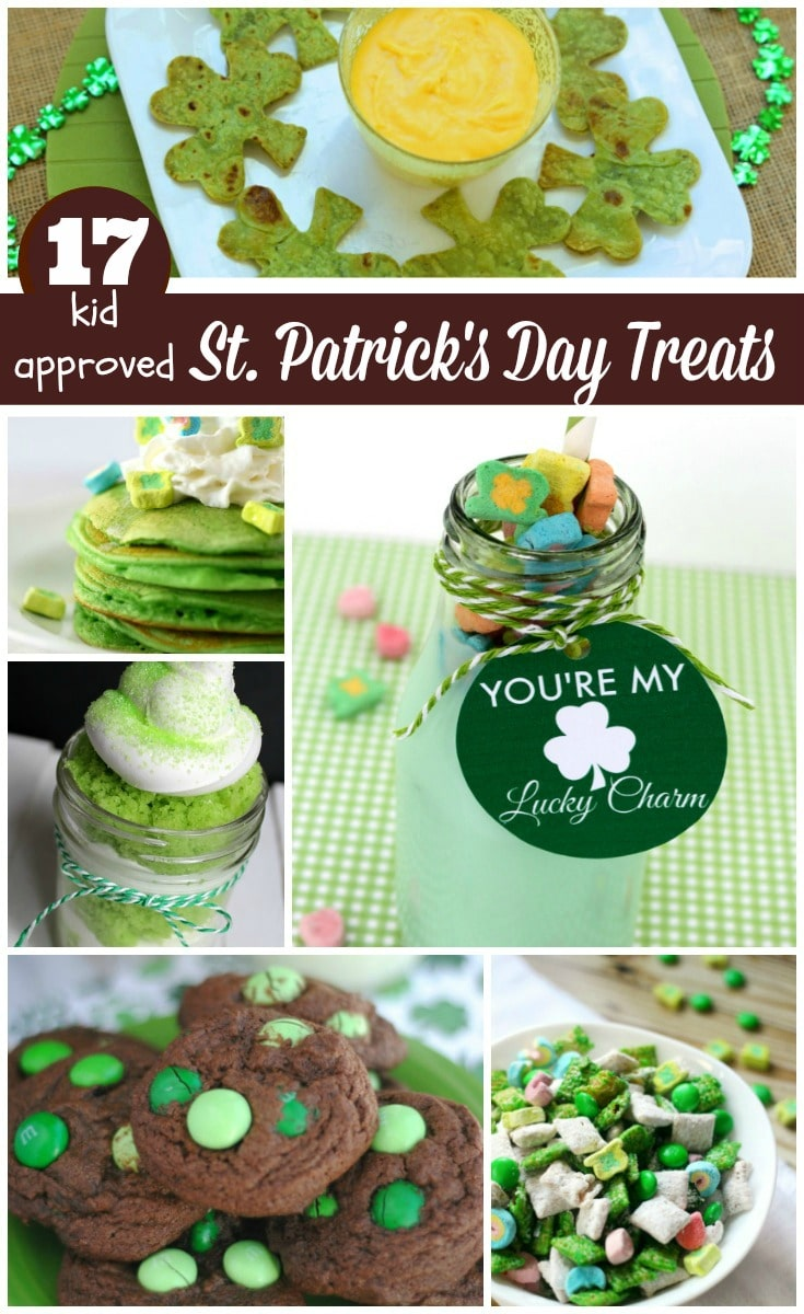 17 Kid Approved St Patrick's Day Treats at thatbaldchick.com