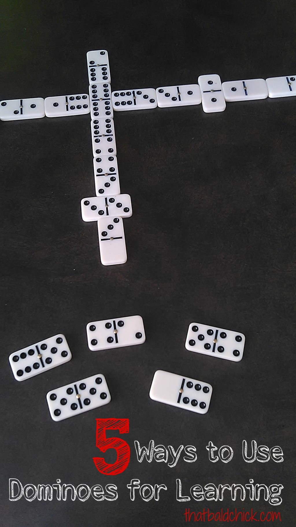 5 ways to use dominoes for learning at thatbaldchick.com