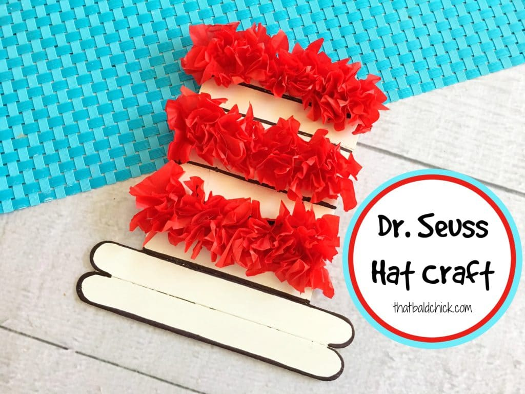 Dr Seuss Hat at thatbaldchick.com