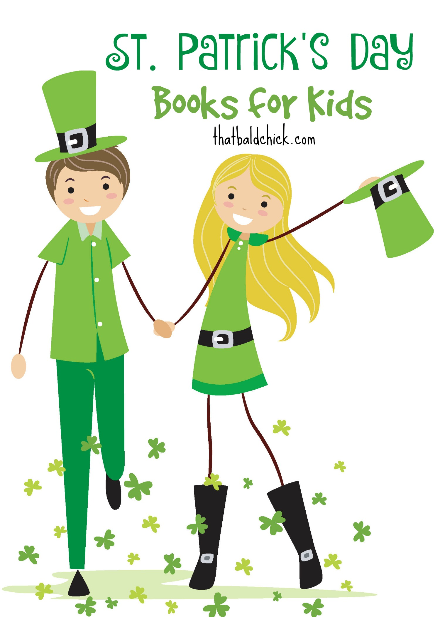 30+ St Patricks Day Books for Kids at thatbaldchick.com