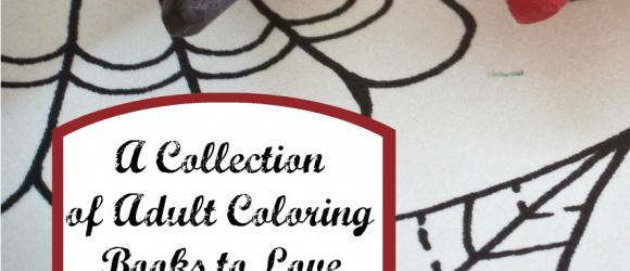A Collection of Adult Coloring Books to Love