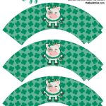 St Patrick's Day Cupcake Wrappers