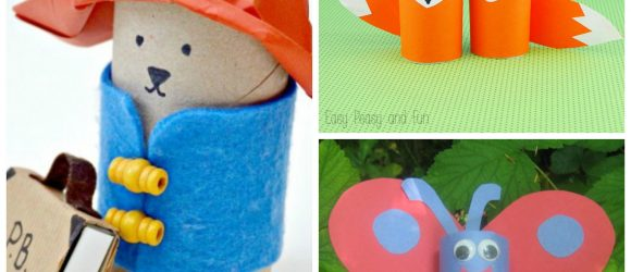20+ Totally Tubular Toilet Roll Crafts to Make at thatbaldchick.com