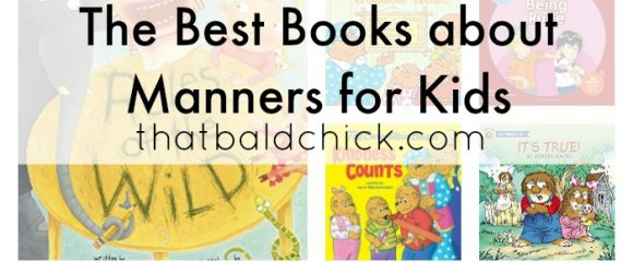 The Best Books about Manners for Kids