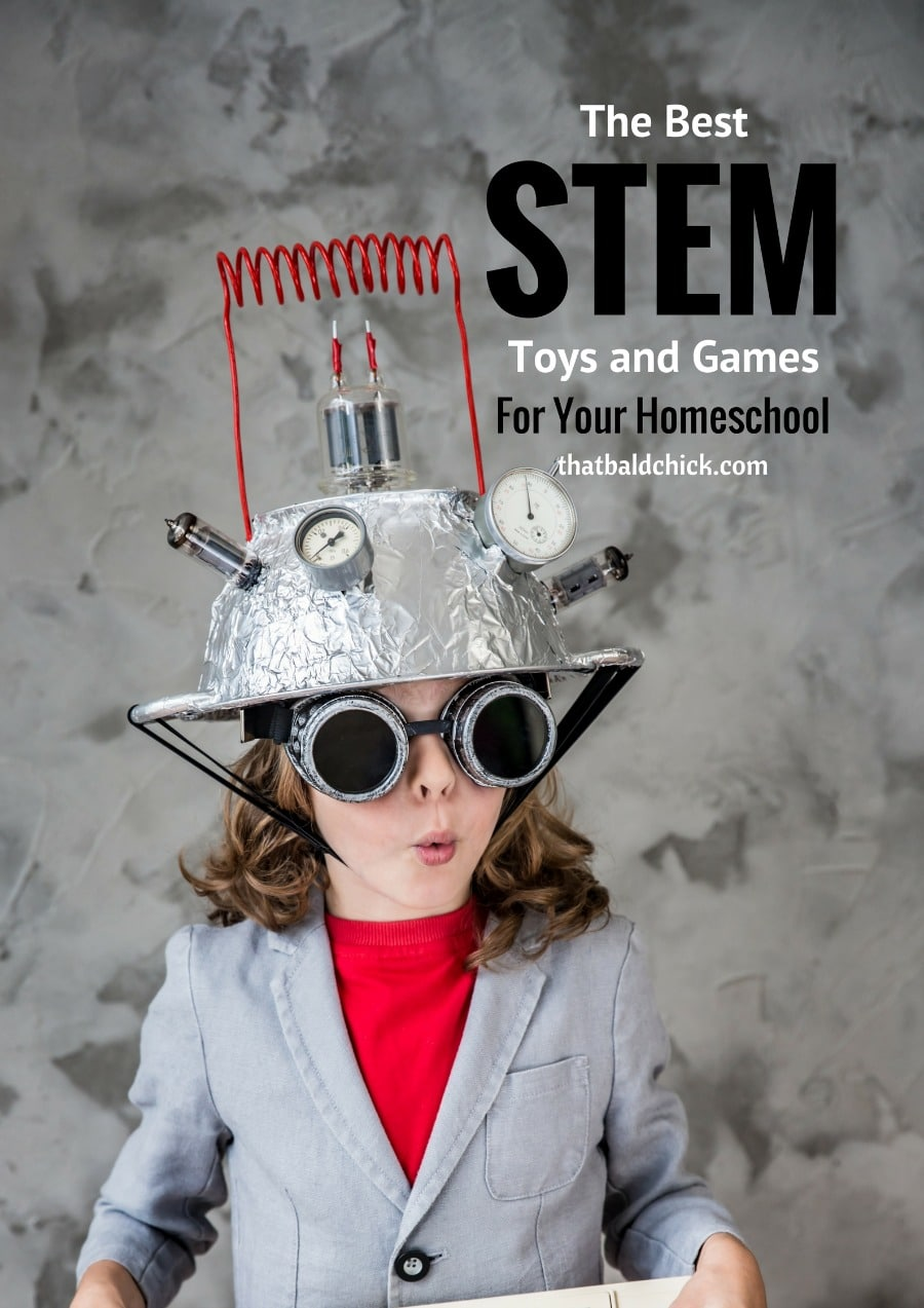The Best STEM Toys and Games for your Homeschool at thatbaldchick.com